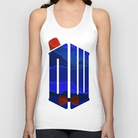 doctor Tank Tops featuring Doctor by foreverwars