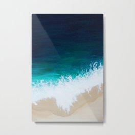Sea Below Metal Print