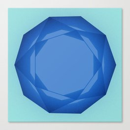 Blue Gem Canvas Print
