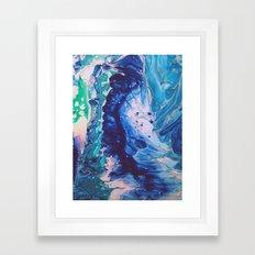 Aquatic Meditation Framed Art Print