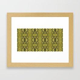 Yellow Haze Framed Art Print