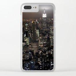 New York Souvenir Clear iPhone Case