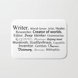 Writer Bath Mat