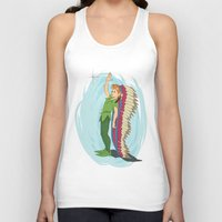 peter pan Tank Tops featuring Peter Pan by LarissaKathryn