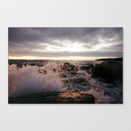 Angry Lake Canvas Print