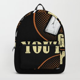 Gin Alcohol Cocktail Party Funny Quote Backpack