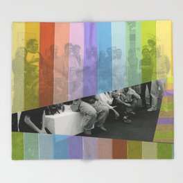 Kodachrome Reunion Throw Blanket