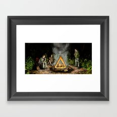 The Nerdist Framed Art Print