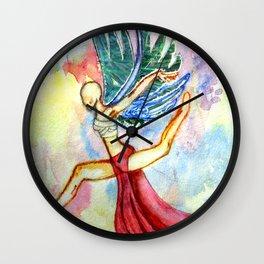 Dancing Angel Wall Clock