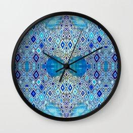 Papillon de Glace Wall Clock
