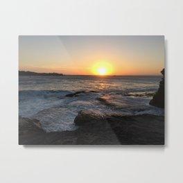 Beautiful sunset at La Perouse, Sydney, Australia Metal Print