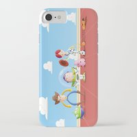 toy story iPhone & iPod Cases featuring TOY STORY by Ana Xoch Guillén