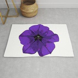Purple Petunia Rug