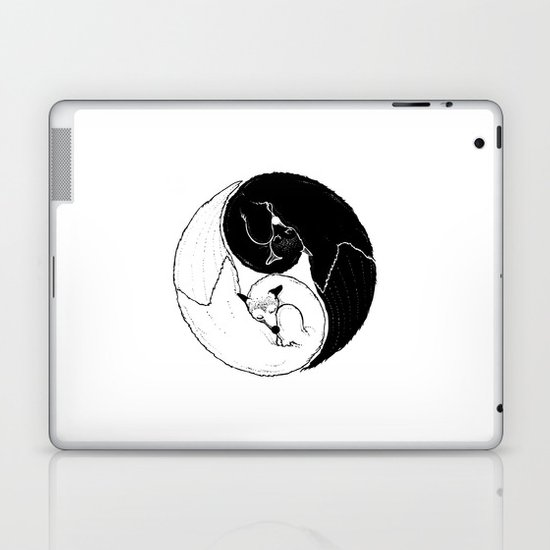 The Tao of Fox Laptop & iPad Skin