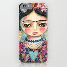 The heart of Frida Kahlo  Slim Case iPhone 6
