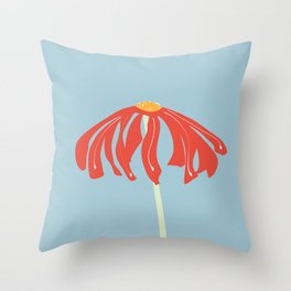 Singola flower Throw Pillow