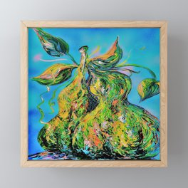 Abstract Pears Framed Mini Art Print