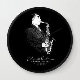 Charlie Parker - Bird -Jazz-Sax-Music Wall Clock