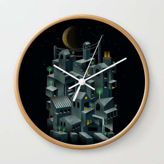 The City Wall Clock