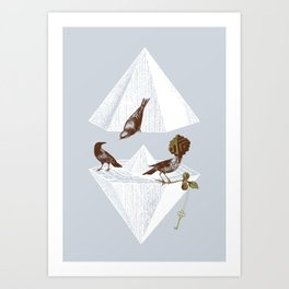 Guardian of Secrets Art Print