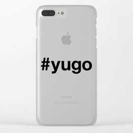 YUGOSLAVIA Clear iPhone Case