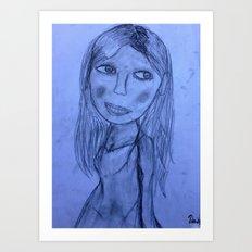 Chi's Skin Art Print