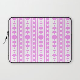Pink Pattern Tribal Laptop Sleeve