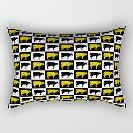 All cows are beautiful Rectangular Pillow