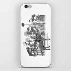 Thrill of the Chase iPhone & iPod Skin