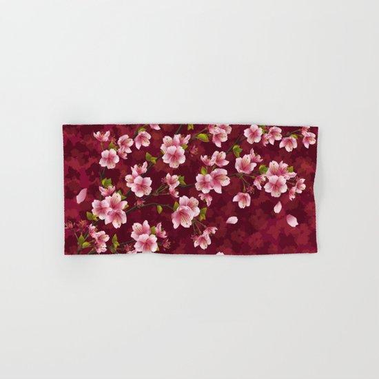Cherry blossom #12 Hand & Bath Towel
