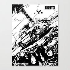 Siesta Beach Canvas Print