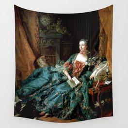 Madame de Pompadour, by Boucher, Francois  Wall Tapestry