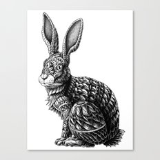 Ornate Rabbit Canvas Print