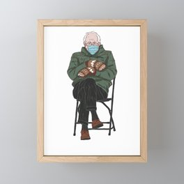 Bernie Sanders Framed Mini Art Print