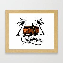 Calfornia Framed Art Print