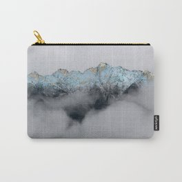 Teal Gold Misty Mountains Carry-All Pouch