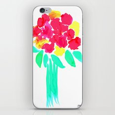 Watercolor Bouquet iPhone Skin
