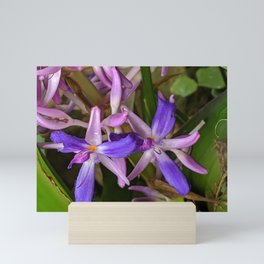 Shades of Purple Mini Art Print