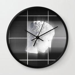 Ephebe 2 - Ancient Greek Bust Wall Clock