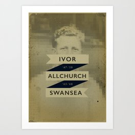Swansea - Allchurch Art Print