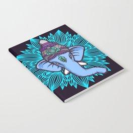 Wise Elephant Ganesha Mandala Notebook