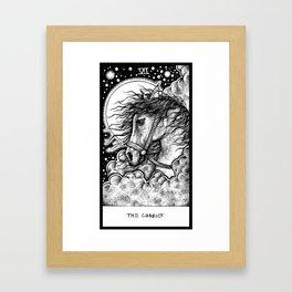 The Chariot Tarot Framed Art Print