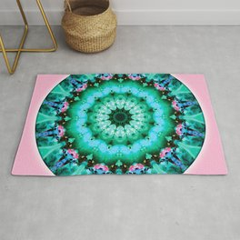 Mandalas from the Heart of Transformation 5 Rug