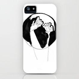 moonlight hands iPhone Case