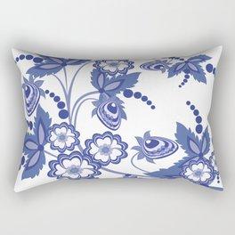 Abstract floral branch Rectangular Pillow