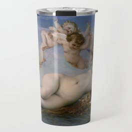 THE BIRTH OF VENUS - ALEXANDRE CABANEL Travel Mug