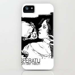 Nosferatu Phantom Der Natch. iPhone Case