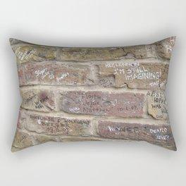 Abbey Road Wall Rectangular Pillow