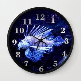 Sea World Lion Fish Wall Clock