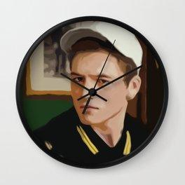 Eggsy 7 Wall Clock